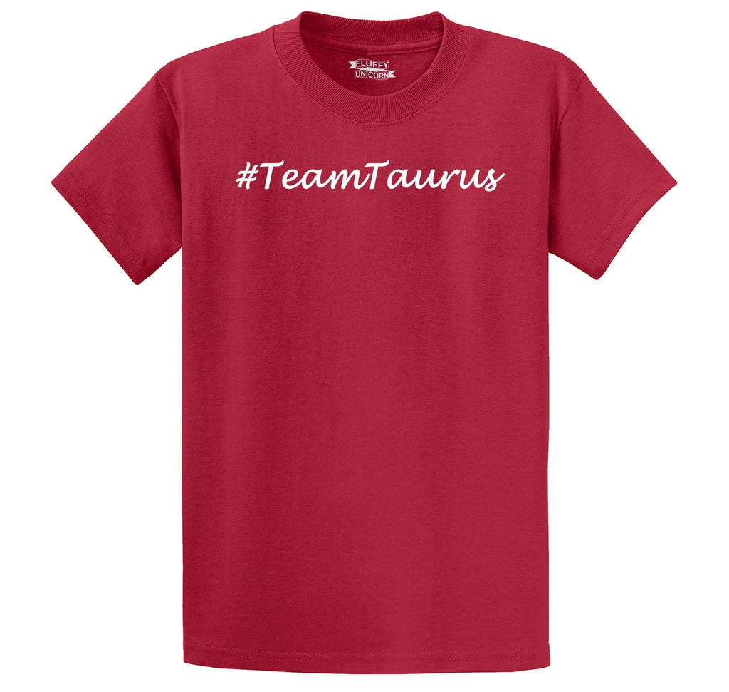 #TeamTaurus Men's Heavyweight Cotton Tee Shirt