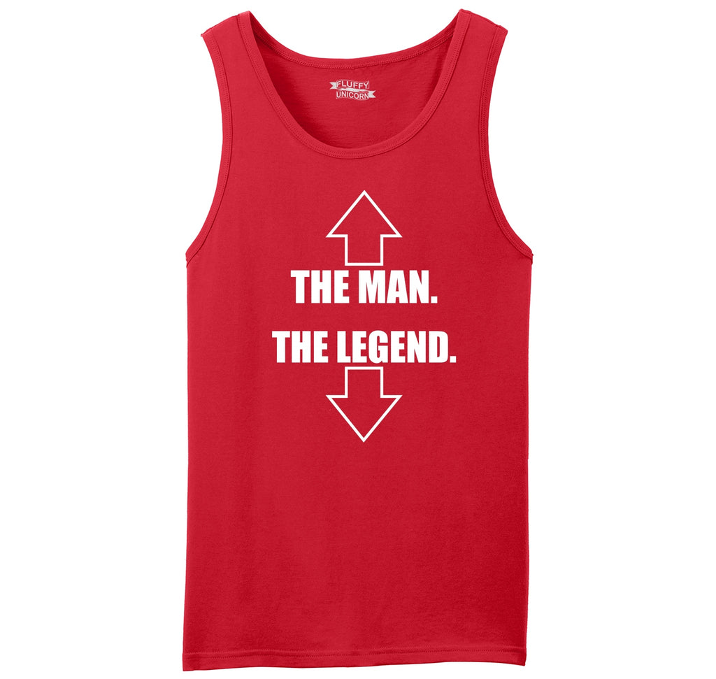 The Man The Legend Mens Sleeveless Tank Top