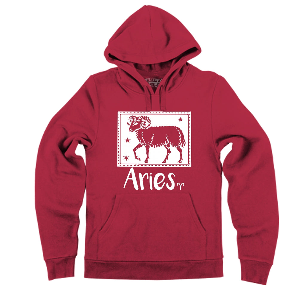Horoscope Aries Tee Hooded Sweatshirt