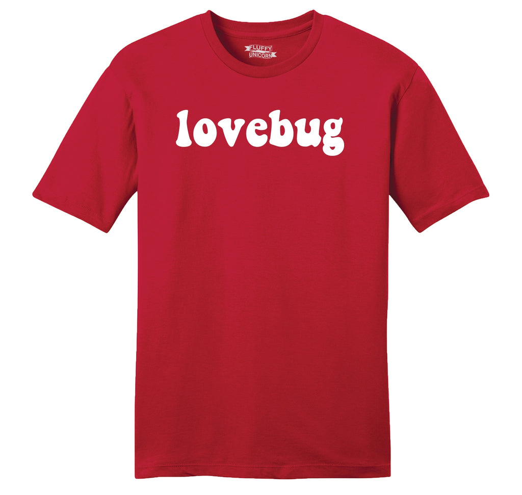 Lovebug Mens Ringspun Cotton Tee Shirt