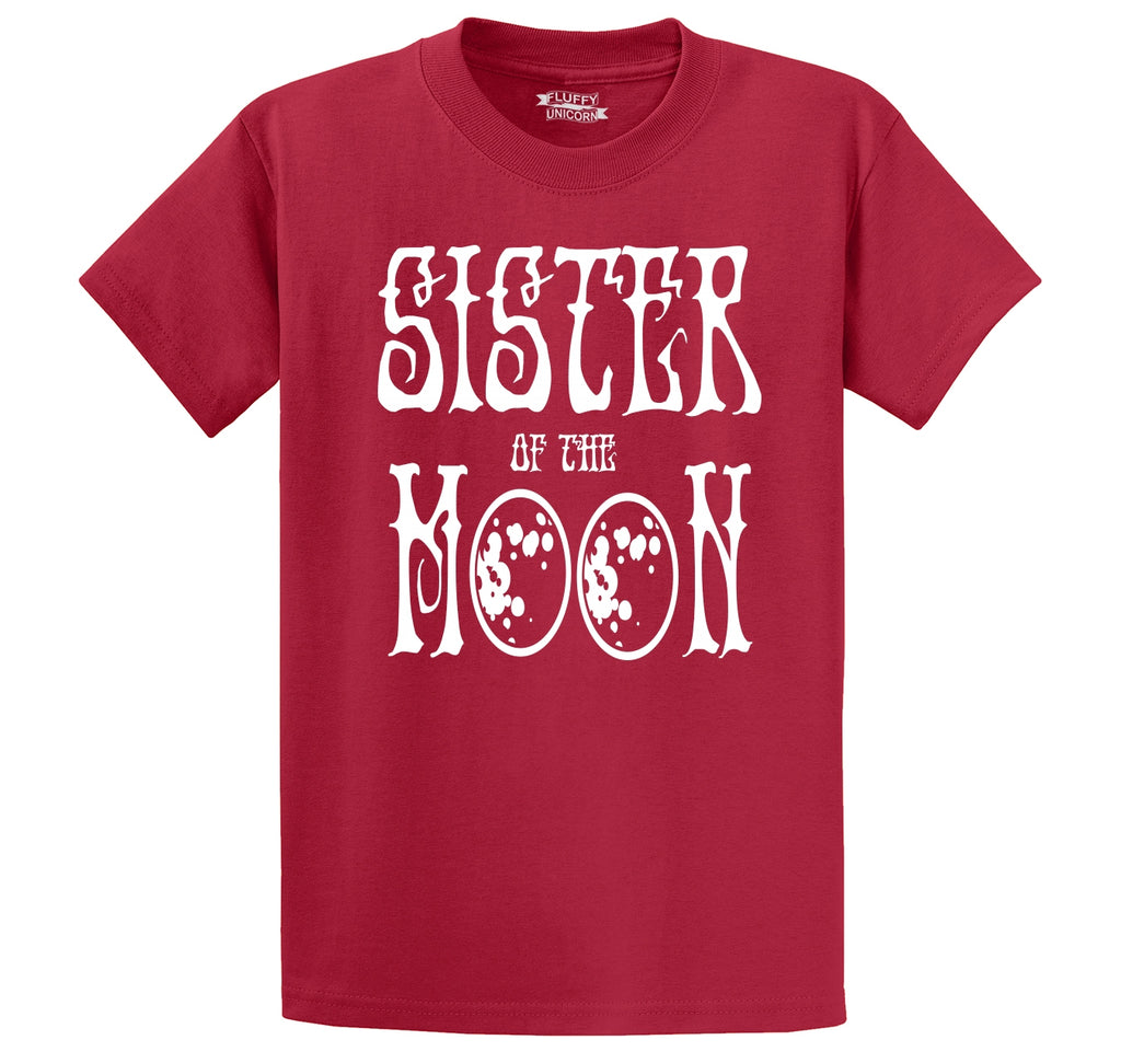 Sister Of The Moon Men's Heavyweight Big & Tall Cotton Tee Shirt