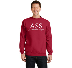 ASS The Other Vagina Crewneck Sweatshirt