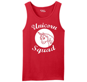 Unicorn Squad Cute Team Bridesmaids Dance Crew Shirt Mens Sleeveless Tank Top