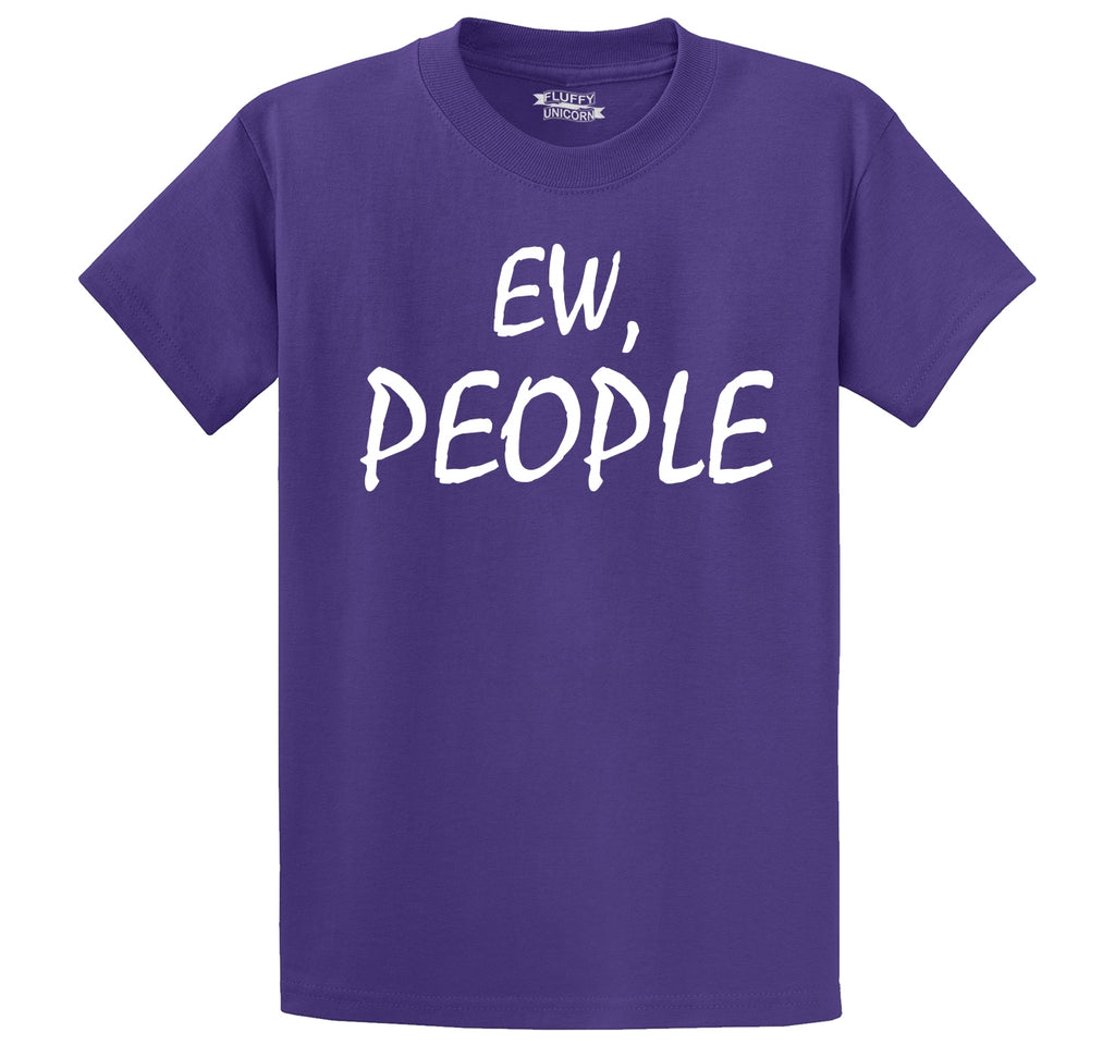 Ew People Men's Heavyweight Cotton Tee Shirt