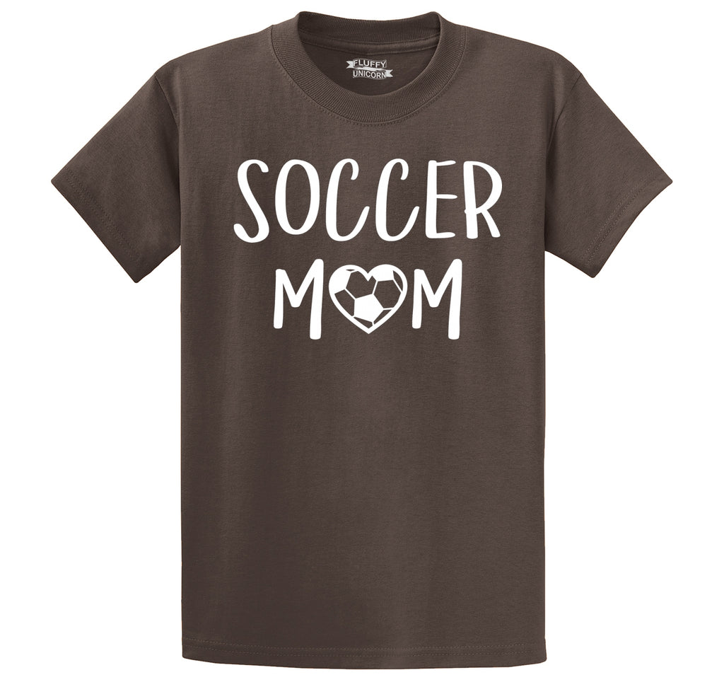Soccer Mom Men's Heavyweight Cotton Tee Shirt