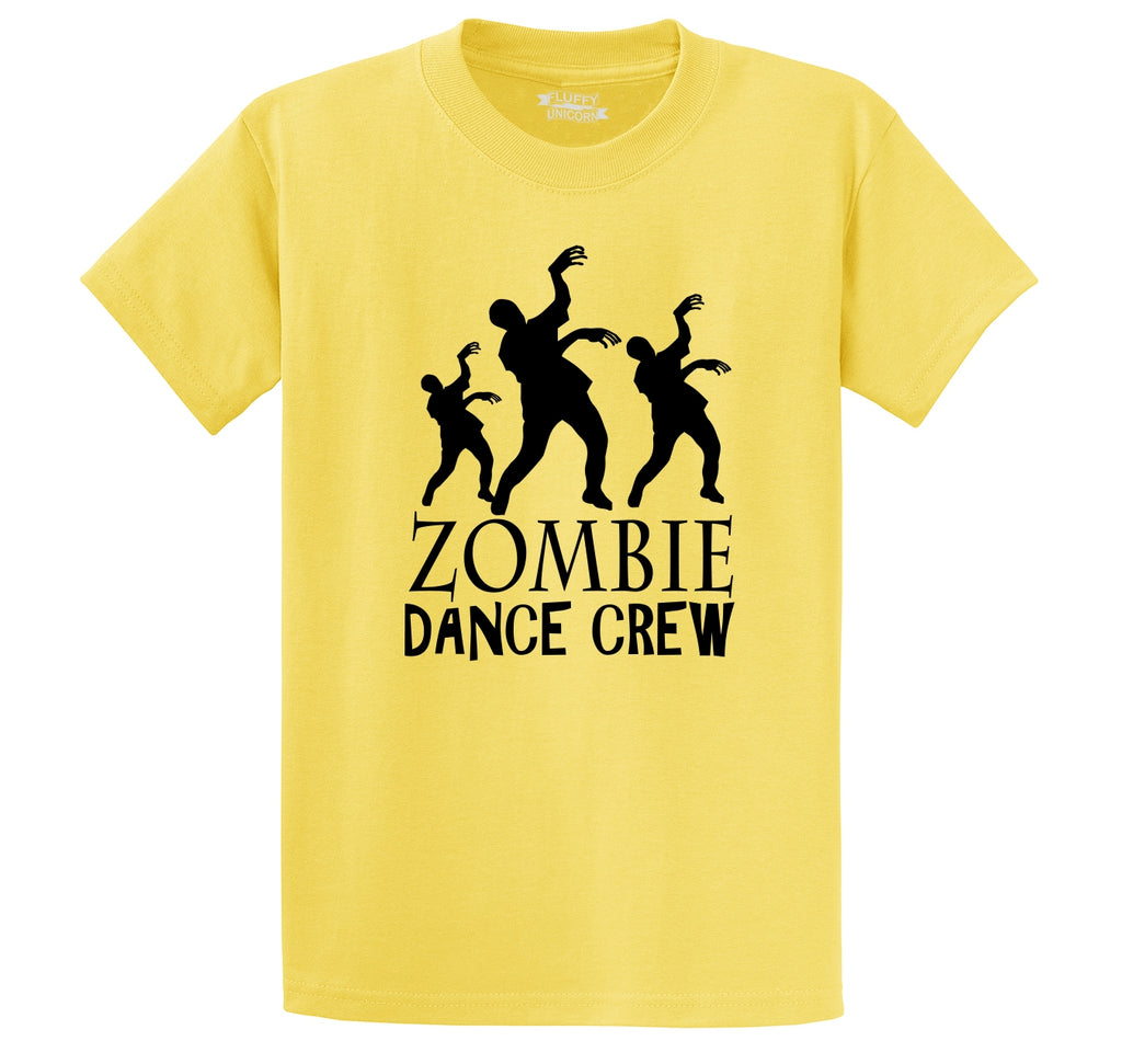 Zombie Dance Crew Men's Heavyweight Big & Tall Cotton Tee Shirt