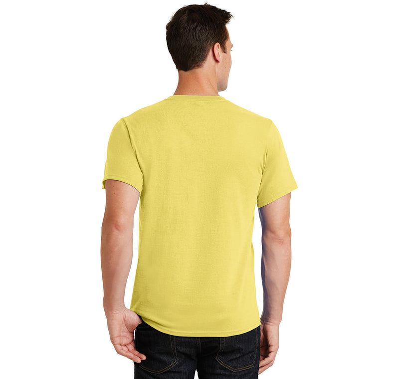 Problem Solved Men's Heavyweight Big & Tall Cotton Tee Shirt