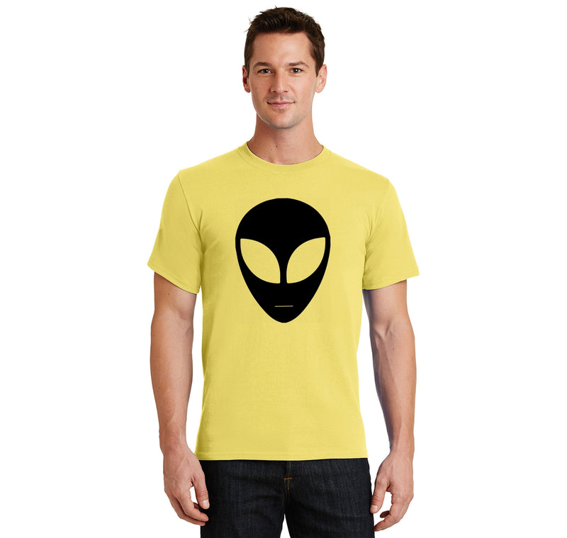 Alien Face Shirt Hipster Believe UFO Nerd Tee Men's Heavyweight Cotton Tee Shirt