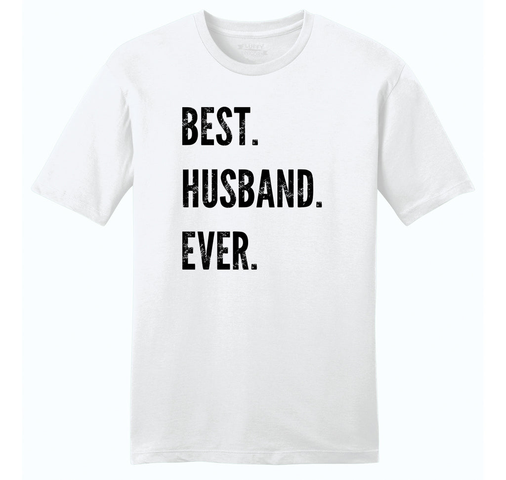 Best Husband Ever Valentines Day Holiday Gift Tee Mens Ringspun Cotton Tee Shirt