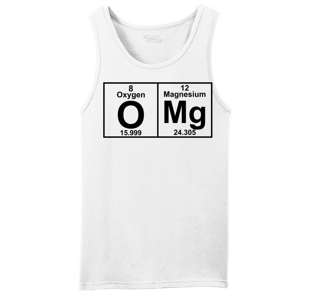 OMG Periodic Table Of Elements Mens Sleeveless Tank Top