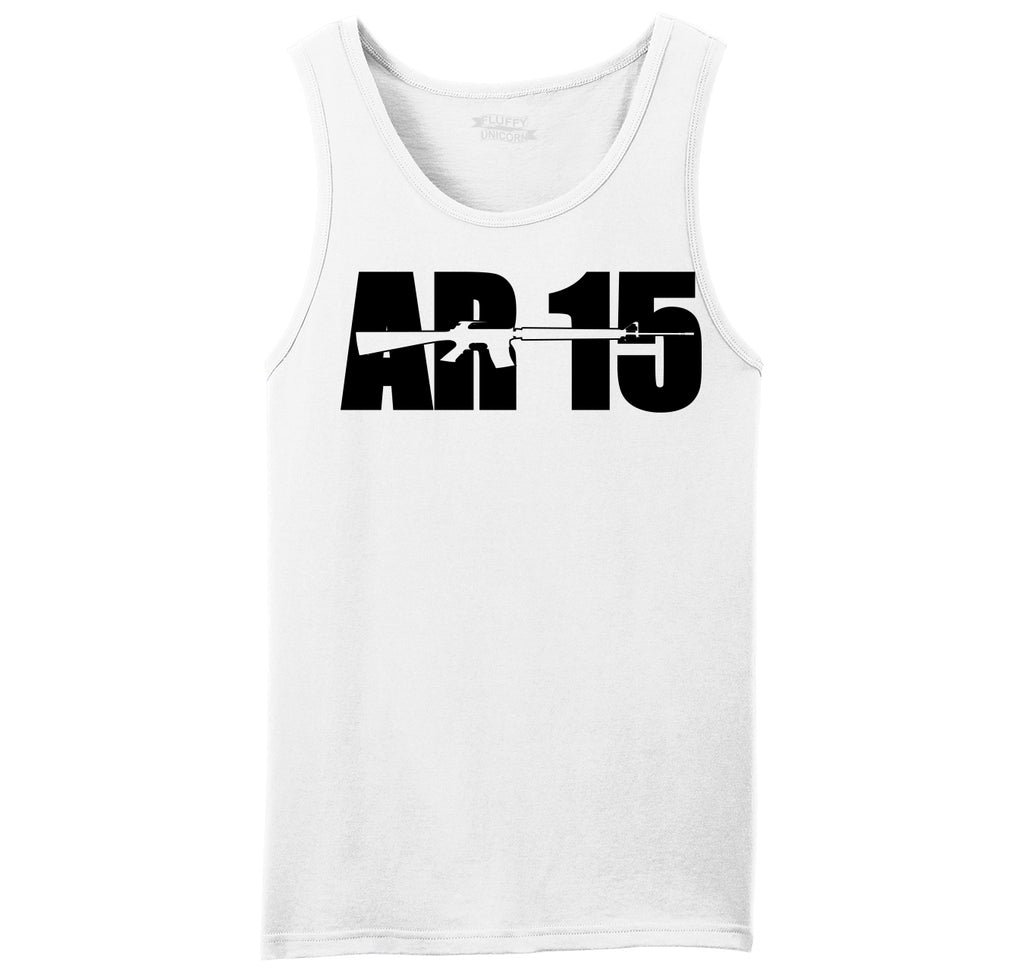 AR15 Gun Rights Hunting Tee Mens Sleeveless Tank Top