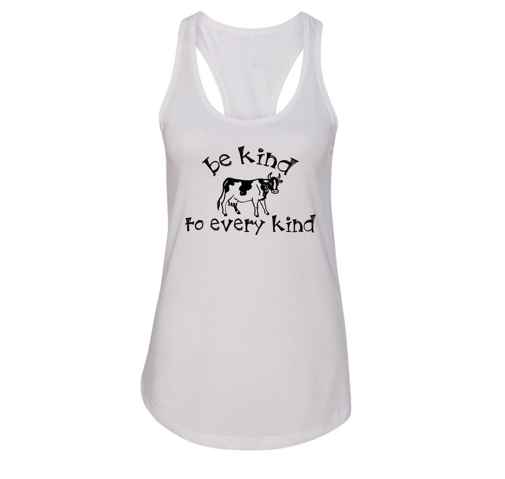 Be Kind To Every Kind Ladies Racerback Tank Top