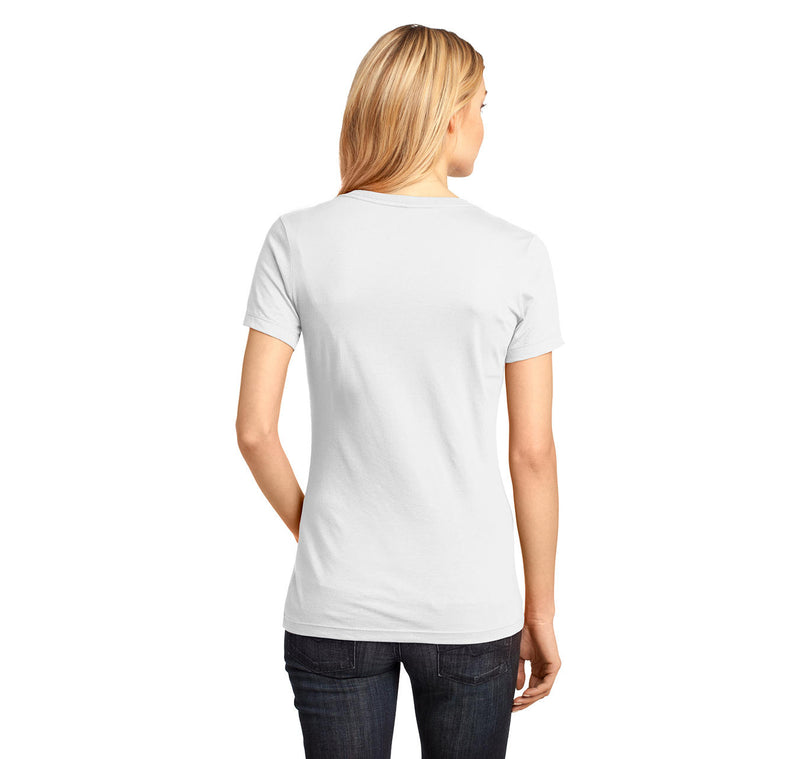 Camel Towing Ladies Ringspun V-Neck Tee