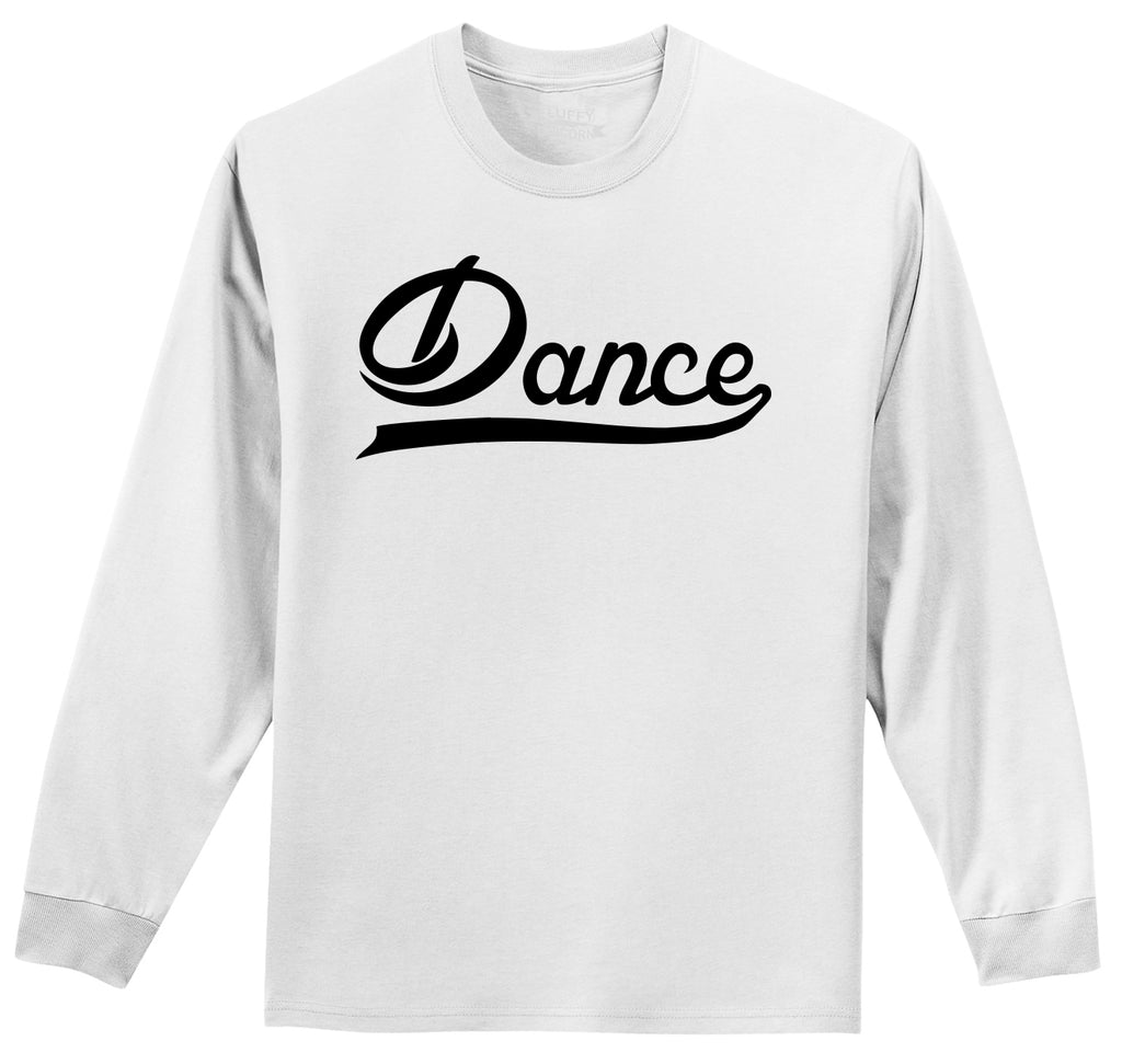 Dance Mens Long Sleeve Tee Shirt