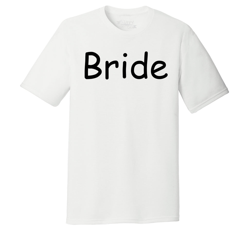 Bride Cute Wedding Bachelorette Party Tee Mens Short Sleeve Tri-Blend Shirt