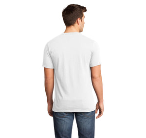 Are you a drummer? Do you know a drummer? You should understand the difficulties with keeping calm! Mens Short Sleeve Ringspun V Neck