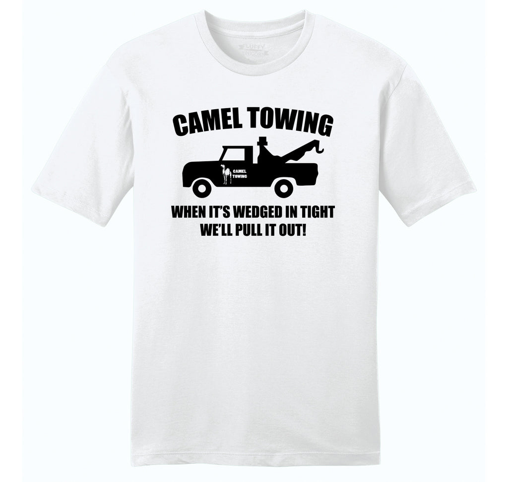 Camel Towing Mens Ringspun Cotton Tee Shirt