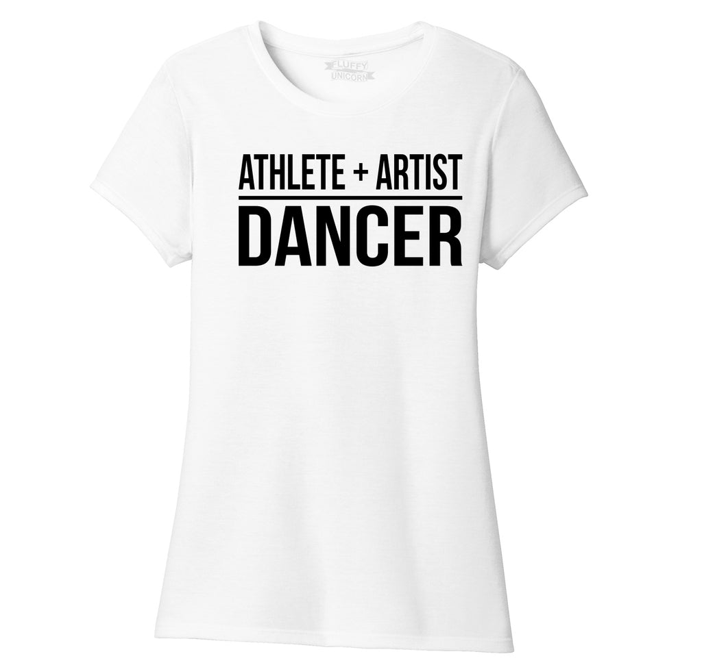 Athlete Artist Dancer Ladies Short Sleeve Tri-Blend Shirt