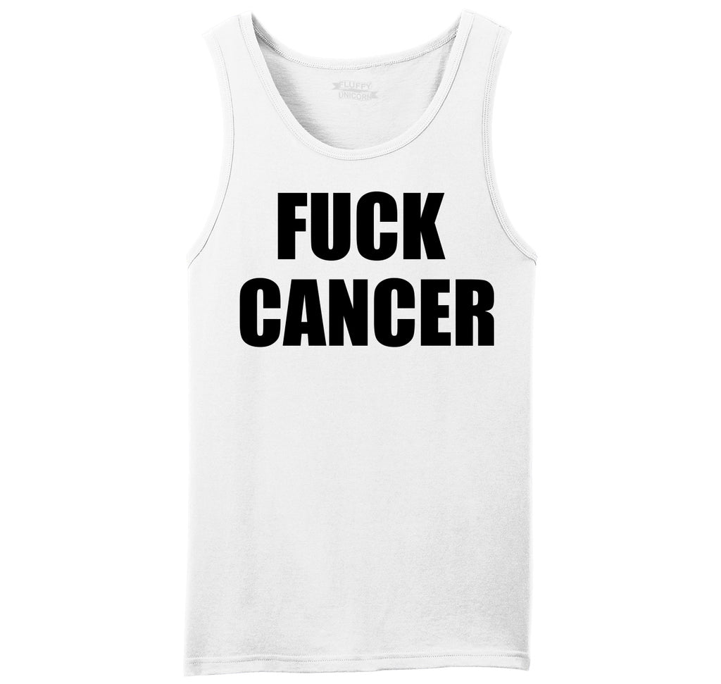 Fuck Cancer Mens Sleeveless Tank Top