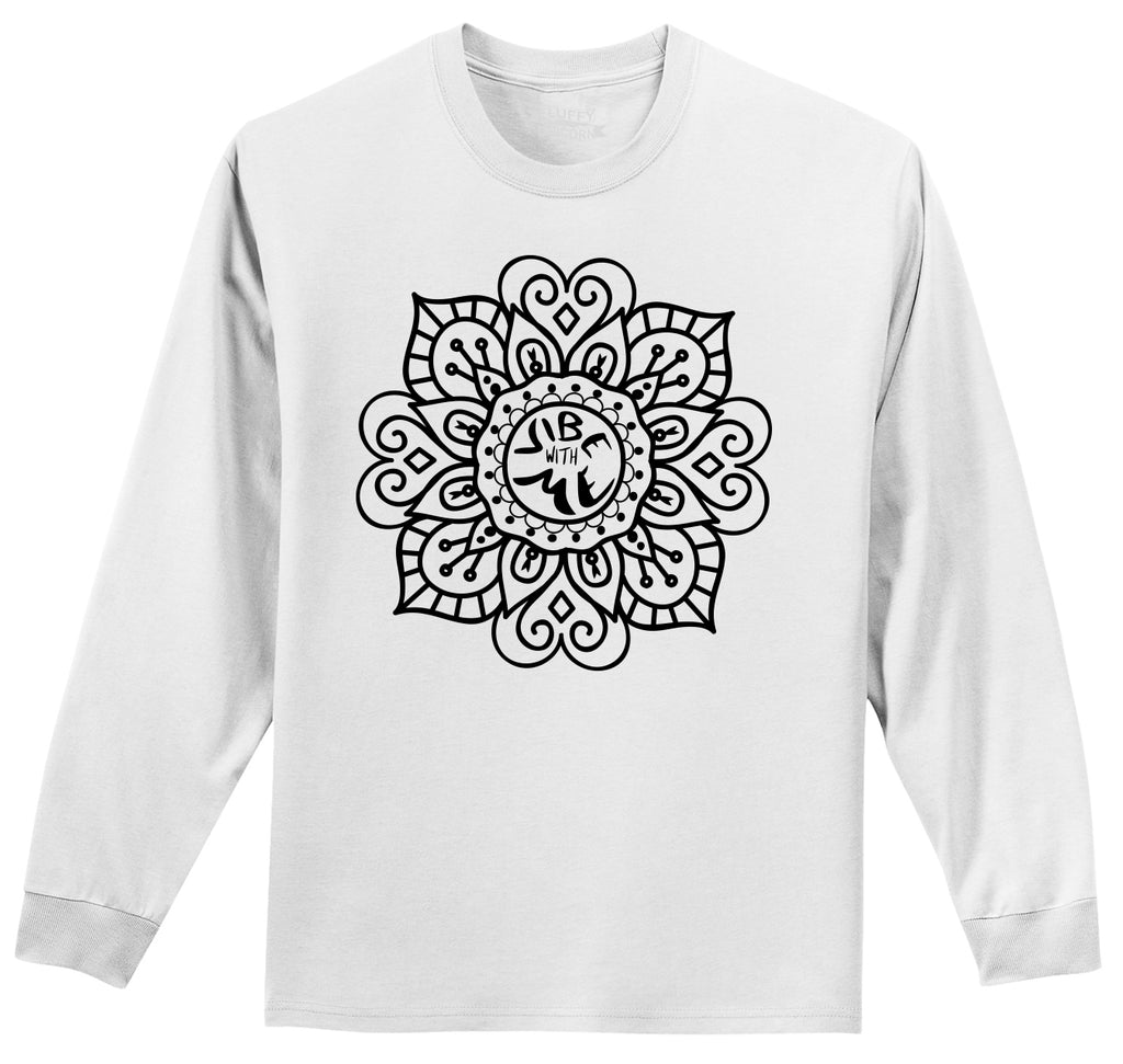Vibe With Me Mens Long Sleeve Tee Shirt