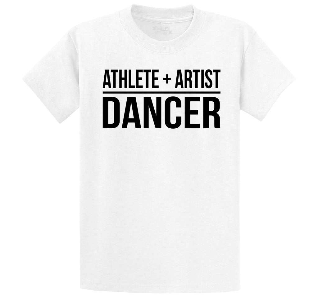 Athlete Artist Dancer Men's Heavyweight Cotton Tee Shirt