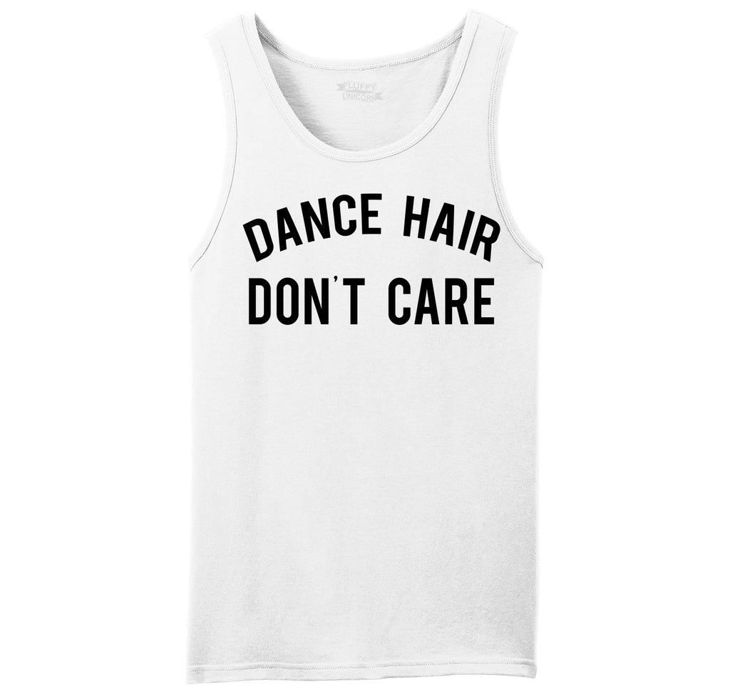 Dance Hair Don't Care Mens Sleeveless Tank Top