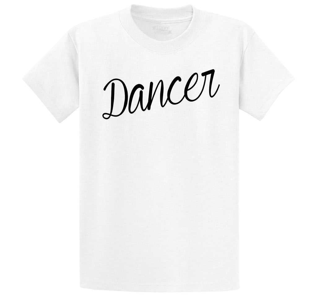 Dancer Men's Heavyweight Cotton Tee Shirt
