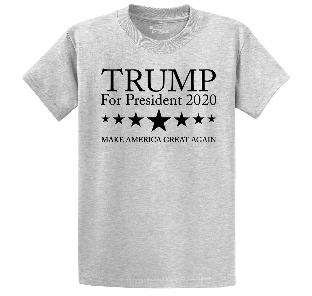 Trump For President 2020 Men's Heavyweight Cotton Tee Shirt