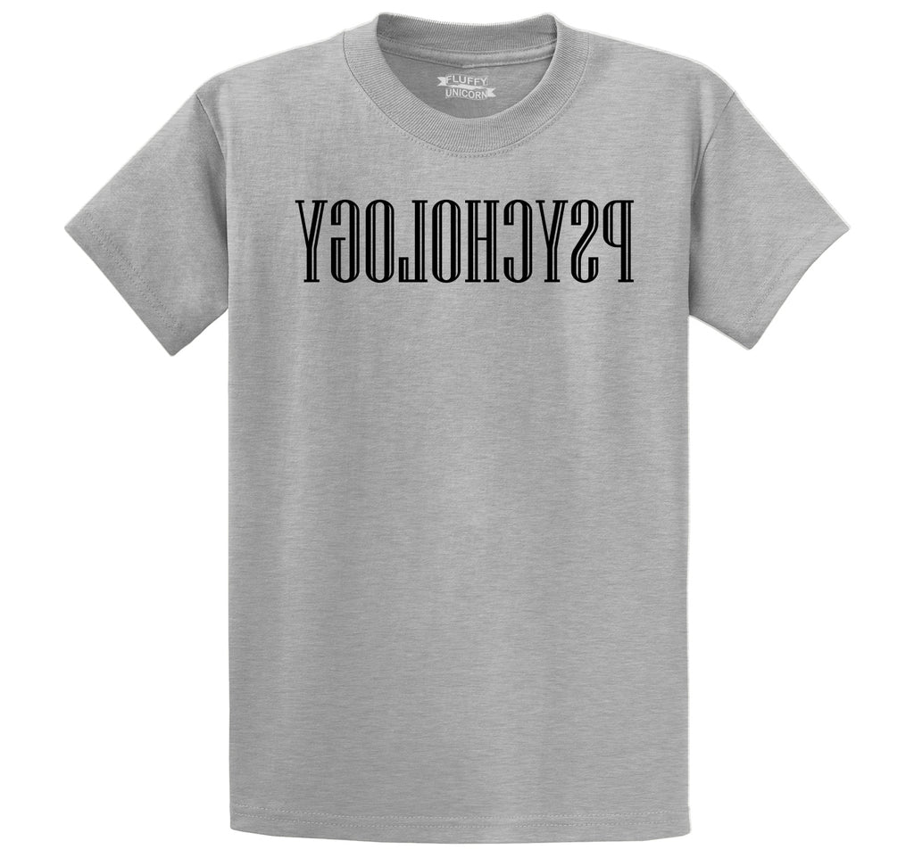 Reverse Psychology Men's Heavyweight Cotton Tee Shirt