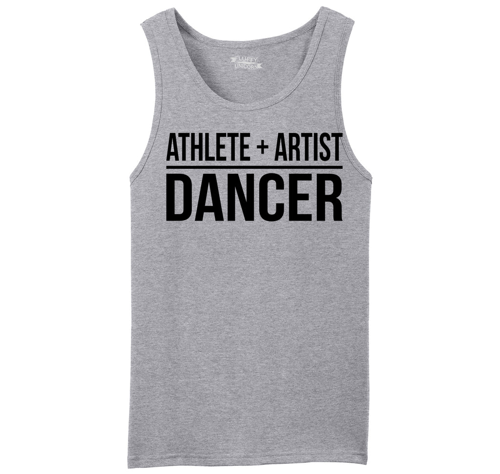 Athlete Artist Dancer Mens Sleeveless Tank Top