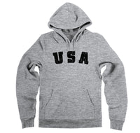 Distressed USA T Shirt American Pride Patriotic Home Gift Tee Hooded Sweatshirt