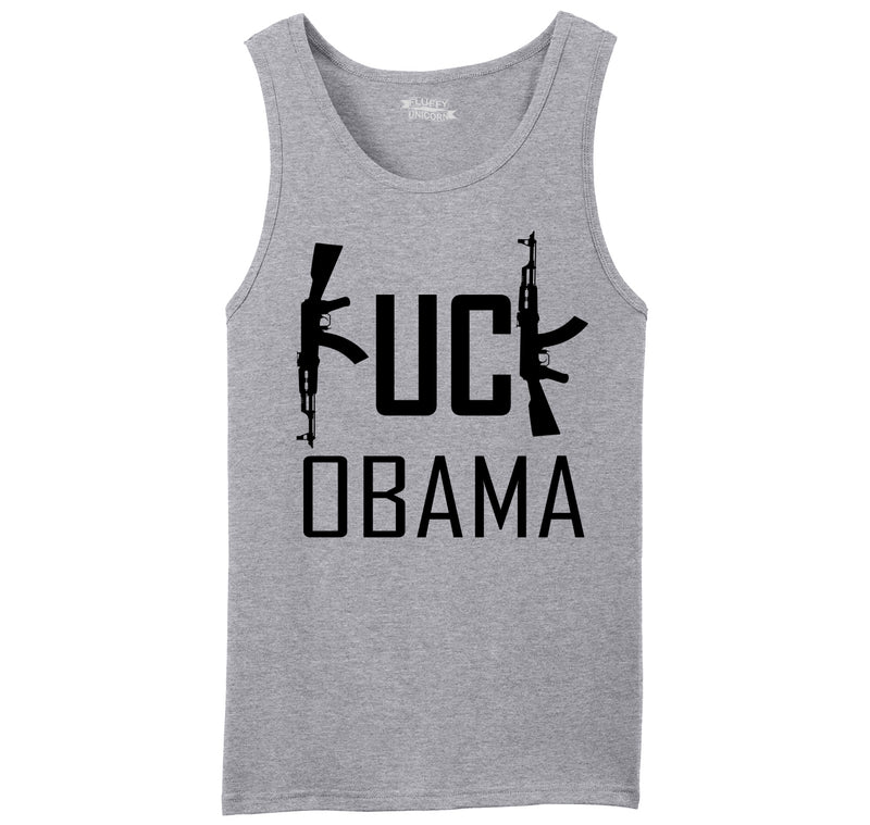Fuck Obama Mens Sleeveless Tank Top