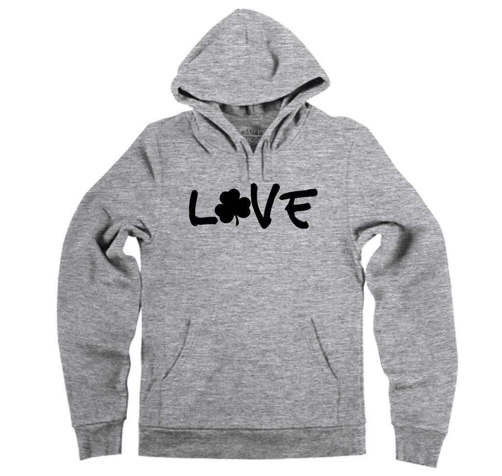 Love St Patty's Day Hooded Sweatshirt