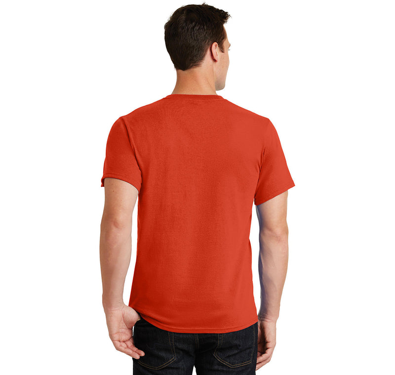 Santa Is Real Men's Heavyweight Cotton Tee Shirt
