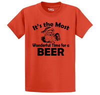 It's The Most Wonderful Time For A Beer Men's Heavyweight Cotton Tee Shirt