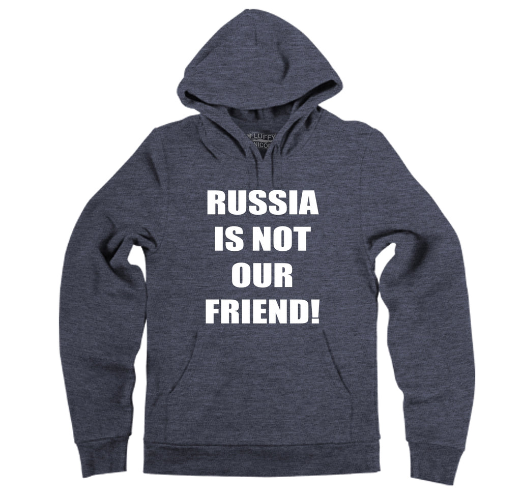 Russia Is Not Our Friend Hooded Sweatshirt