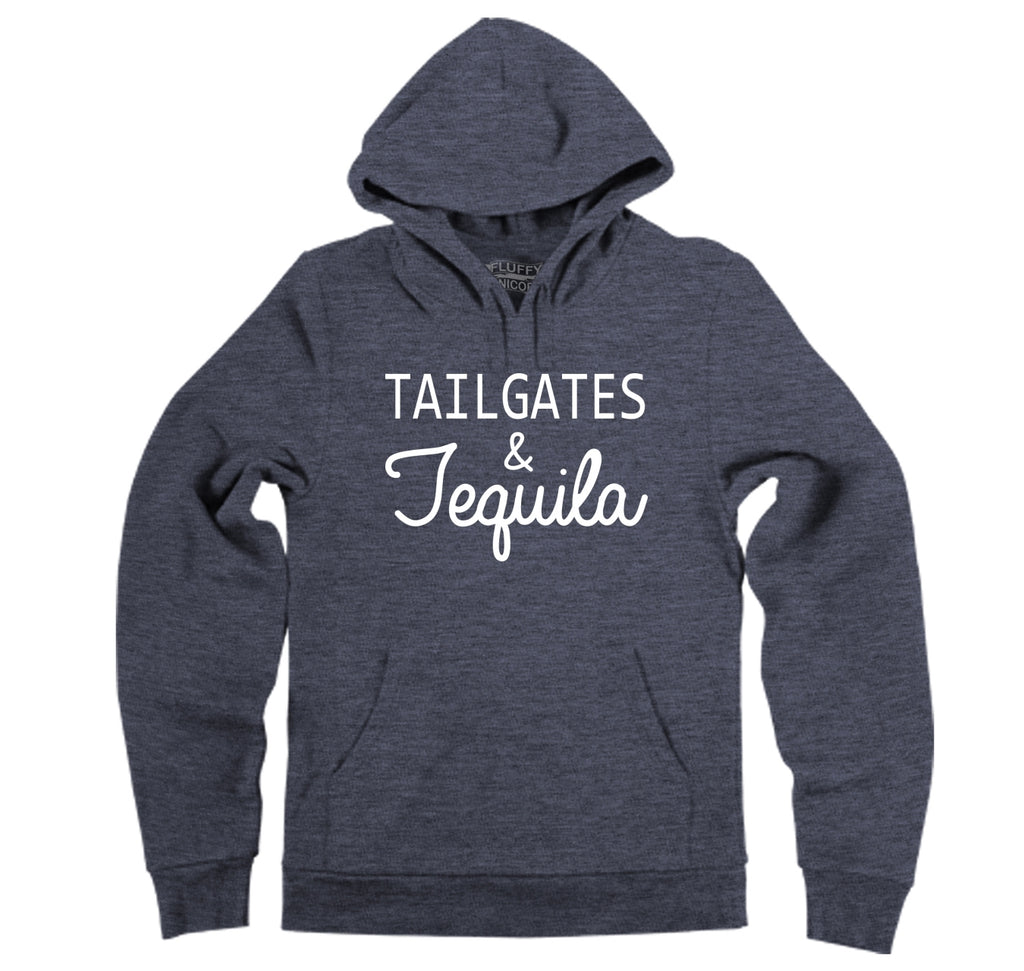 Tailgates and Tequila Hooded Sweatshirt
