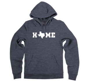 Home Texas Shape O Hooded Sweatshirt