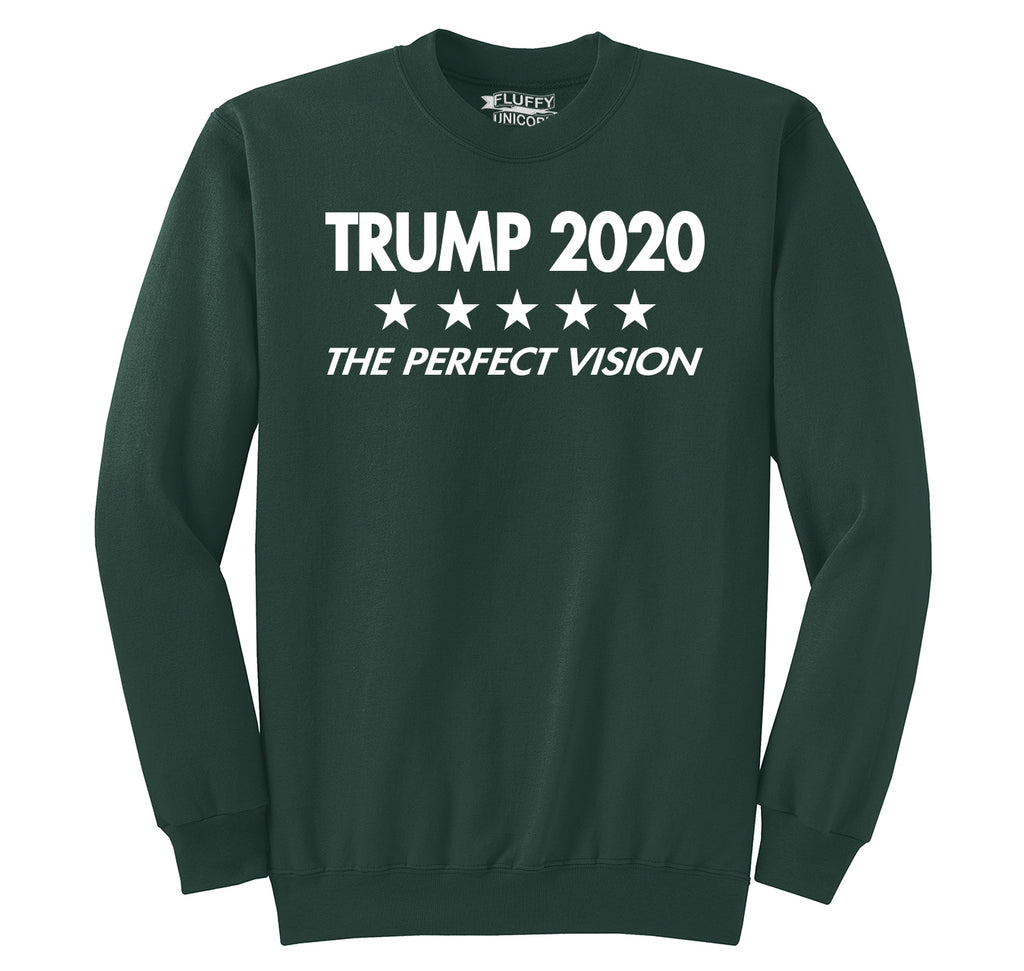 Trump 2020 The Perfect Vision Crewneck Sweatshirt