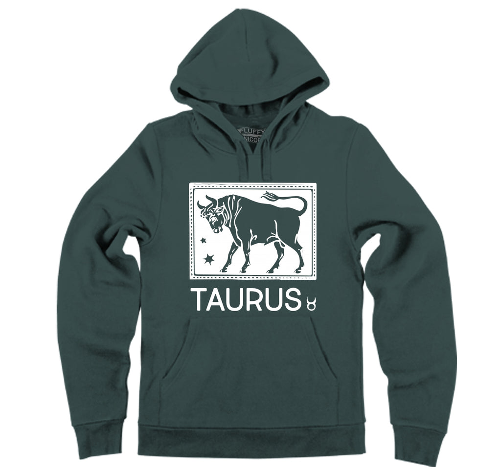 Taurus Horoscope Hooded Sweatshirt