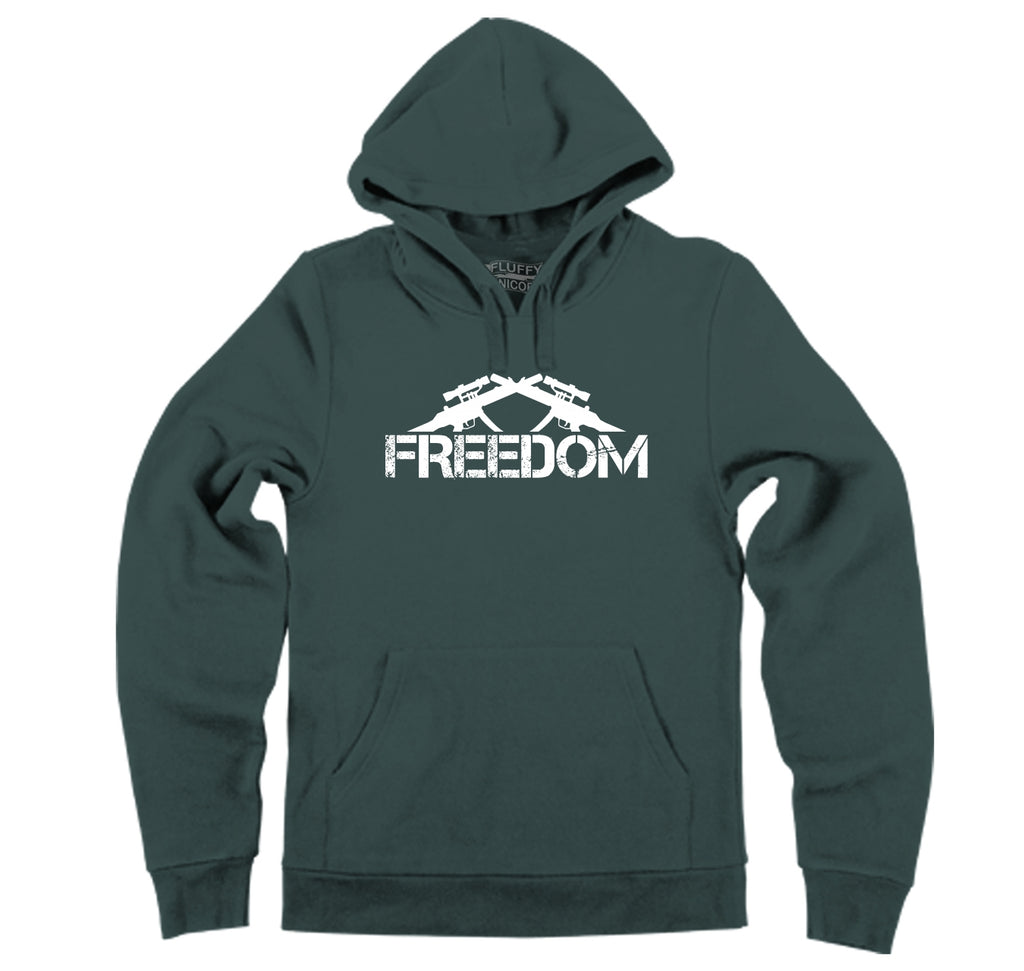 Freedom Guns T Shirt Poltical 2nd Amendment Tee Hooded Sweatshirt
