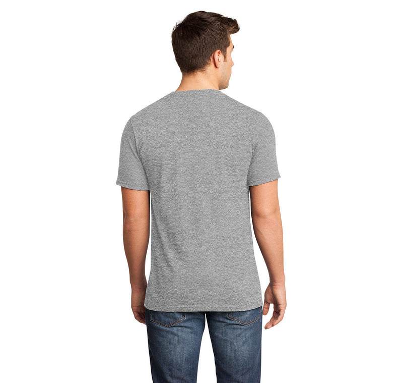 Life Isn't About Waiting For The Storm To Pass But Dance In The Rain Mens Short Sleeve Ringspun V Neck