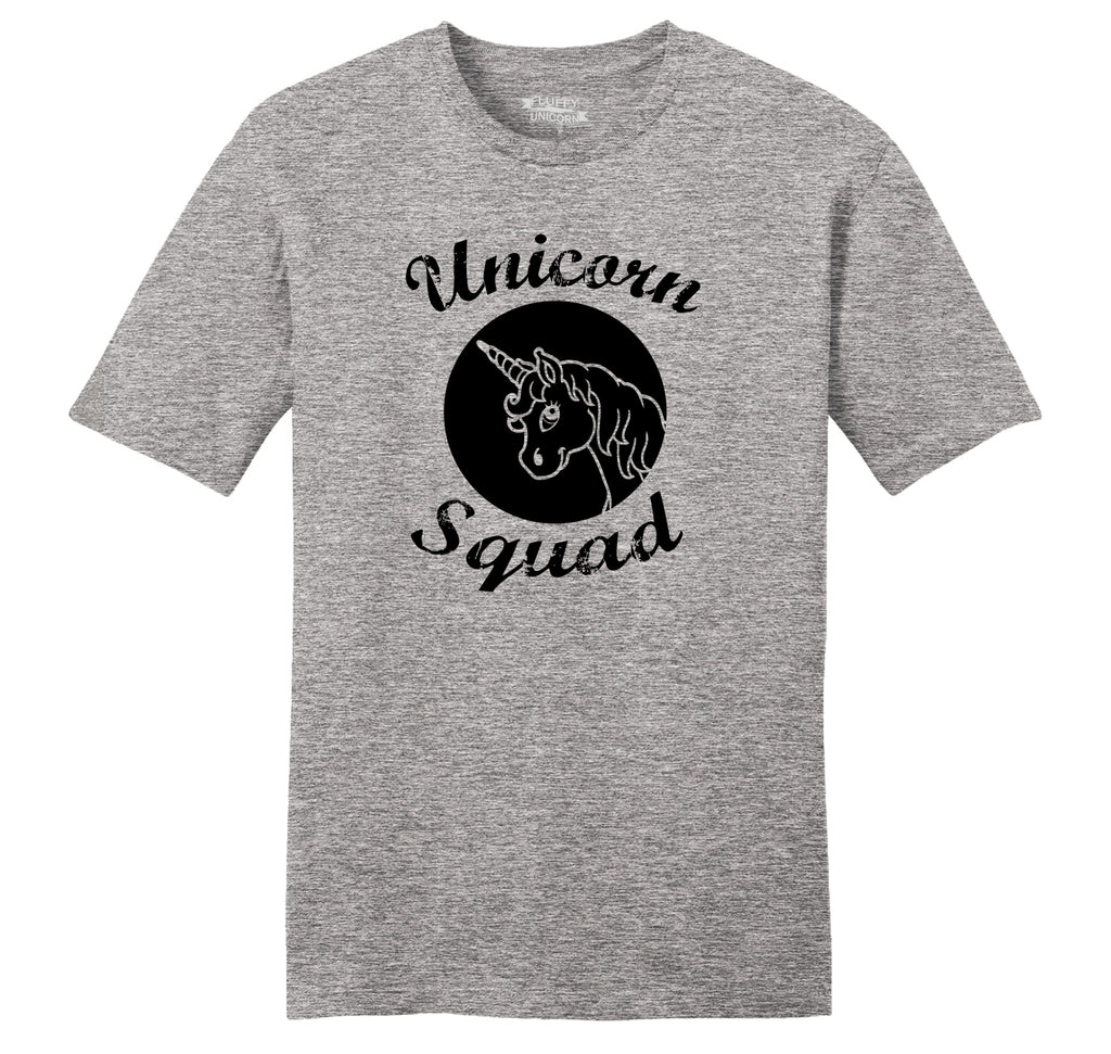 Unicorn Squad Cute Team Bridesmaids Dance Crew Shirt Mens Ringspun Cotton Tee Shirt
