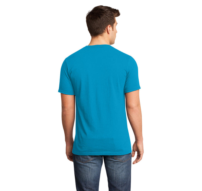 I 8 Sum Pi Mens Short Sleeve Ringspun V Neck