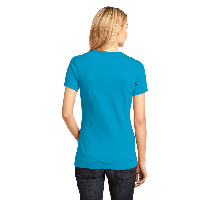 Be Rational Get Real Ladies Ringspun V-Neck Tee