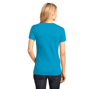 Name The Triangles Geoffrey Frederick Eugene Ladies Ringspun V-Neck Tee