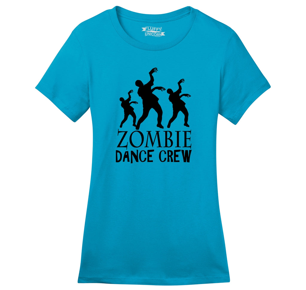 Zombie Dance Crew Ladies Ringspun Short Sleeve Tee