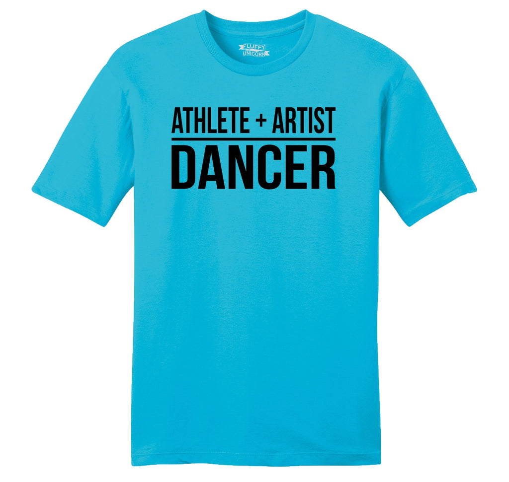 Athlete Artist Dancer Mens Ringspun Cotton Tee Shirt
