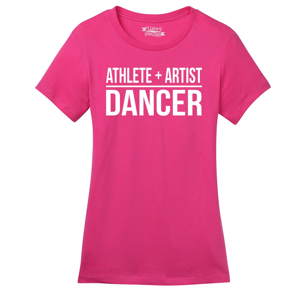 Athlete Artist Dancer Ladies Ringspun Short Sleeve Tee