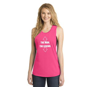 The Man The Legend Ladies Festival Tank Top